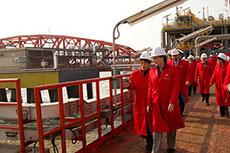Canadian Premier visits Beijing LNG terminal