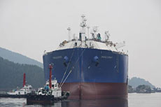 Creole Spirit LNG vessel floated