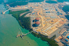 Australia Pacific LNG on track