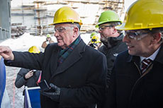 Davie holds keel-laying ceremony for LNG ferry