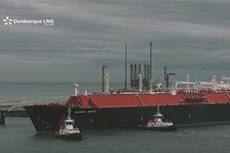 Dunkirk LNG regasification plant receives first LNG carrier