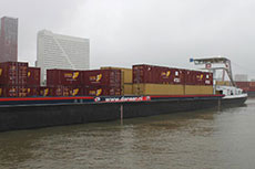 Danser celebrates recommissioning of LNG powered barge
