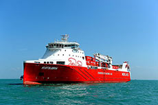 Rolls-Royce engine powers game-changing LNG vessel