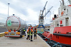 Port of Civitavecchia sees first LNG bunkering
