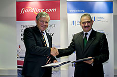 EIB helps Fjord Line fund LNG fleet