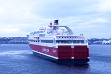 Fjord Line LNG-fuelled ferries recognised