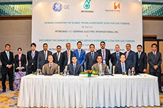 GE pens supply agreement with Petronas