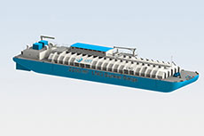 GTT bunker barge approved in principle