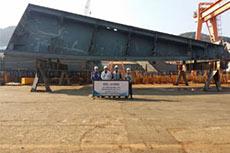 Teekay lays keel for six LNG newbuilds