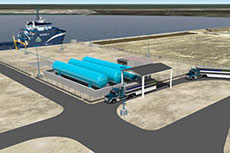 Harvey Gulf begins construction of LNG facility