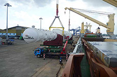 SAL Heavy Lift delivers cryogenic heat exchanger