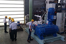 Test preview of Cryostar pump for LNG applications