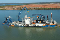 Ichthys LNG completes dredging