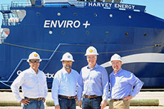 Shell, Harvey Gulf pioneer LNG offshore supply vessel