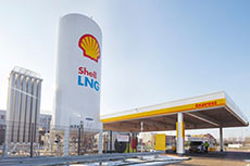 Shell opens LNG fuelling station in Rotterdam