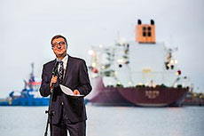 Polish LNG terminal receives first cargo