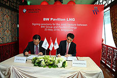 BW Group and Pavilion Energy begin joint venture