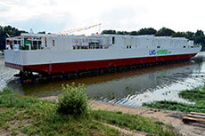 Becker launches LNG Hybrid Barge