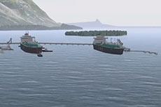 VIDEO: Pacific NorthWest LNG berthing