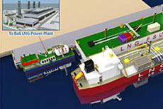 Kumul LNG carrier delivered