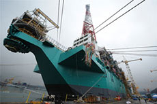 Petronas holds naming ceremony for FLNG vessel