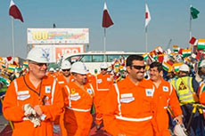 RasGas celebrates safety milestone