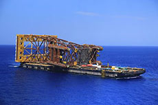 Ichthys LNG installs RSS tower