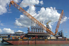 Sarens completes Ichthys LNG project work