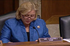Senator Landrieu urges Cameron LNG approval