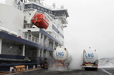 Skangas delivers first LNG for LNG-powered icebreaker