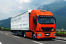 Iveco Stralis LNG wins transport award