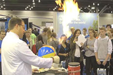 Students experience careers in the LNG industry