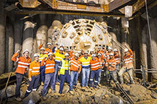 Thiess completes tunnelling to Curtis Island
