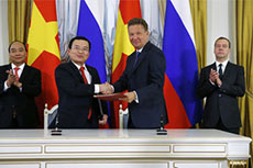 Gazprom and PetroVietnam strengthen cooperation