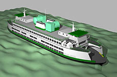 Washington State Ferries switch to LNG fuel
