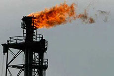 5% of the world's natural gas wasted by flaring