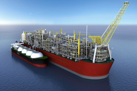 Trelleborg provides bearings for Prelude FLNG