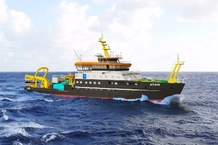 New German LNG fuelled research ship will feature Wärtsilä technology
