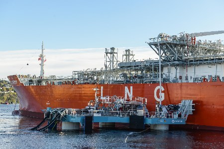 Connect LNG and Gas Natural Fenosa complete first LNG transfer with new groundbreaking technology