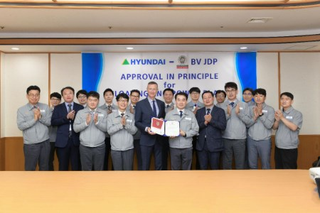 Approval in Principle granted for Hyundai Heavy Industries' LNG solution