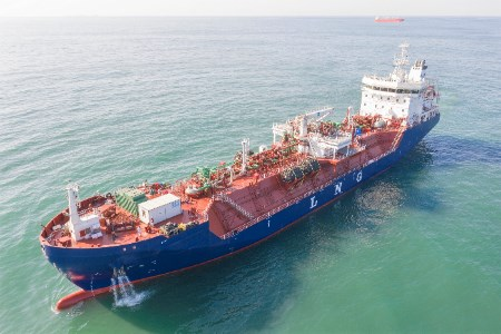 Keppel delivers Southeast Asia's first LNG bunkering vessel