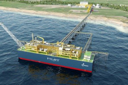 Pilot LNG to supply LNG as a marine fuel to GAC