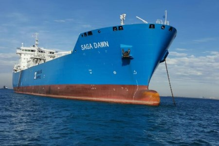 LNG carrier completes tenth voyage