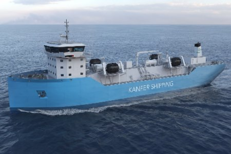 Kanfer signs LOI for two small scale LNG bunker vessels
