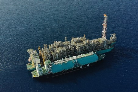 PETRONAS produces LNG from floating facilities