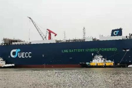 UECC floats LNG battery hybrid PCTC
