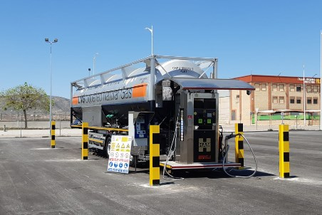 HAM inaugurates new LNG service station in Spain