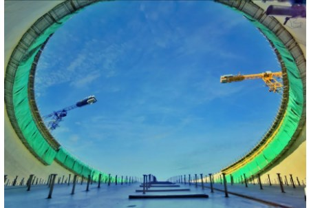 GTT attends LNG tank roof airlifting ceremony