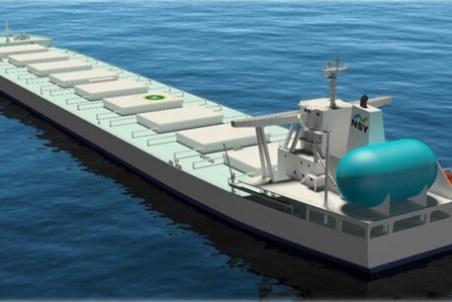 MOL signs deal regarding LNG-fuelled bulker