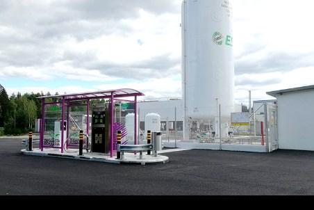 HAM builds LNG service station for Etelä-Savon Energia Oy